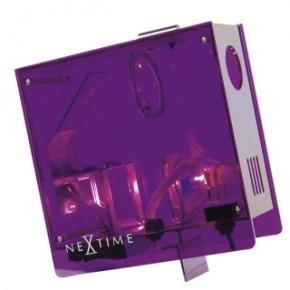NeXtime 2751pa Projectieklok [18x18 cm, Purple]