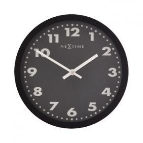 NeXtime 2906ma Mercure [Ø 25 cm, Black]