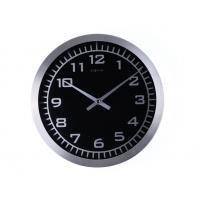 NeXtime 2954 Blacky [Ø 45 cm, Glass, Black]