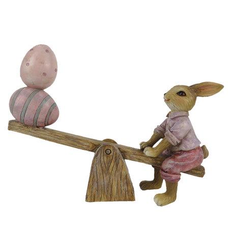 Decoratie konijn wip