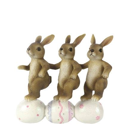 Decoratie konijnen dansen