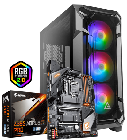 Game-PC Ultimate Core i9 9900K 32GB 1TB SSD ASUS RTX2060 6GB Z390 Gaming