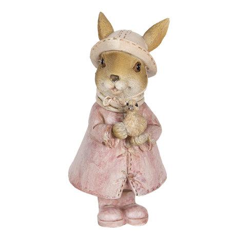 Decoratie konijn jas