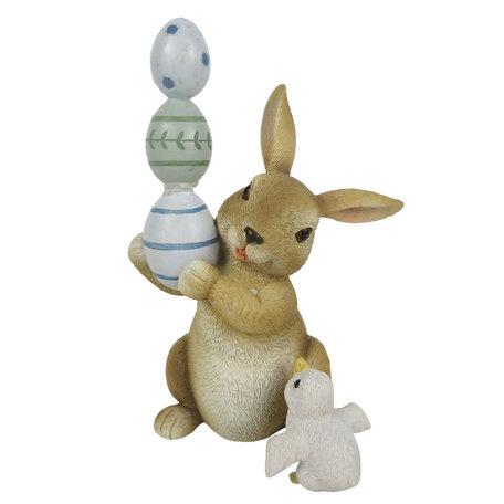 Decoratie konijn ei