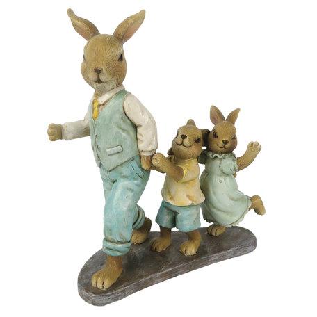 Decoratie konijnen vader