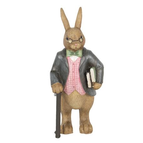 Decoratie konijn man