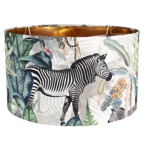 Lampenkap zebra 45cm