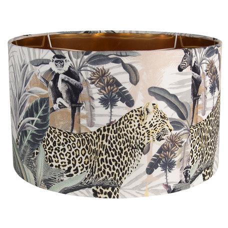 Lampenkap panter - luipaard 45cm