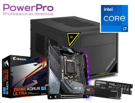 PowerPro Core i9 11900 EightCore 32GB 3200 1TB SSD M.2 NVMe DisplayPort USB3 WiFi