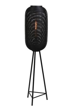 Vloerlamp Ø36x152 cm TOMEK mat zwart