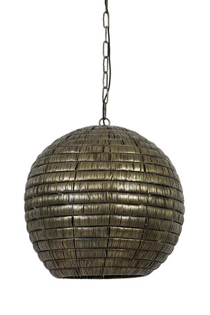Hanglamp 55x56 cm KYMORA antiek brons