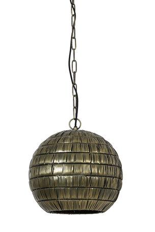 Hanglamp 40x39 cm KYMORA antiek brons