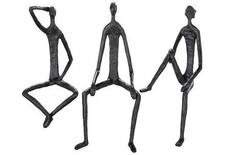 Sculptuur zitten 3