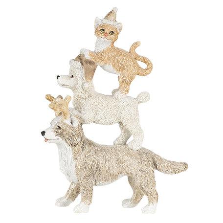 Decoratie dieren hond en kat