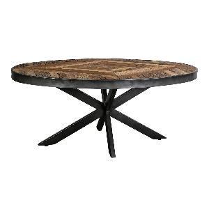 Danyon Oval Houten koffietafel PTMD  110cm x 61,5 cm x 47 cm