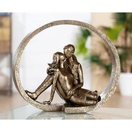 Sculptuur verliefd