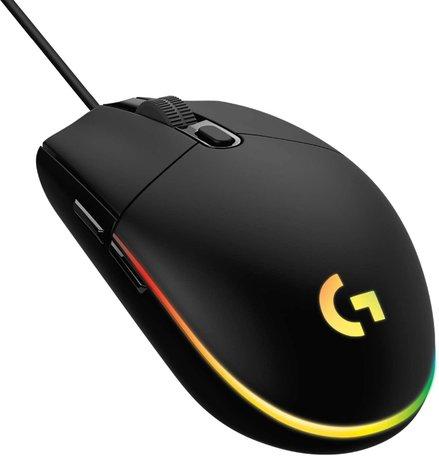 Logitech G203 LIGHTSYNC gaming muis