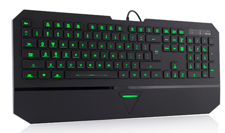 ModeCom MC-800M gaming keyboard 7 color LED (bedraad)
