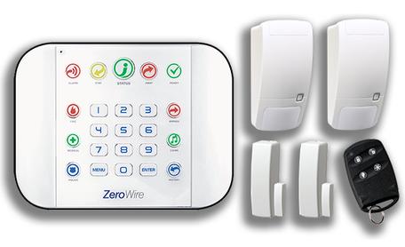 ZeroWire alarmsysteem configuratie naar wens + installatie