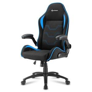 Sharkoon Elbrus 1 Gaming Seat bk/bu gamestoel blauw