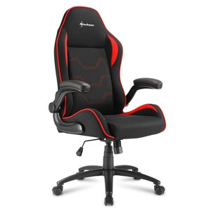 Sharkoon Elbrus 1 Gaming Seat bk/bu gamestoel rood