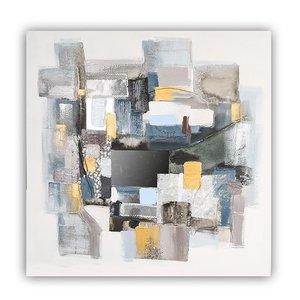Canvas schilderij 'vierkanten