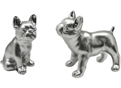 Set van 2 stuks Bulldog beeldjes