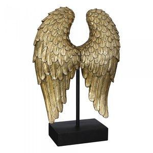 sculptuur  vleugel goud