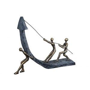 Sculptuur stijgende lijn