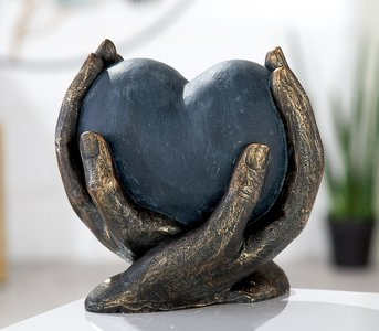 Sculptuur liefdes hart