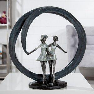 Sculptuur beste vriendinnen